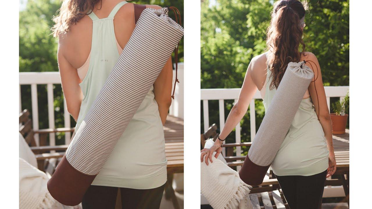 DIY yoga mat bag DESIGN #1 - presented by Magic Carpet ...