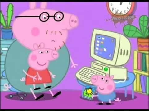 032 Mummy Pig at Work