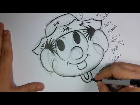 🎬 Live: Como Desenhar o Chico Bento! How to draw Chico Bento!