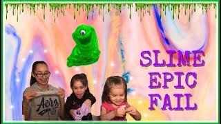Slime epic fail!!  Slime un verdadero desastre!!