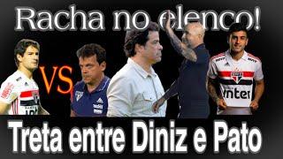 Gambar cover Racha no elenco | Treta entre Diniz e medalhão do time | Saída de Raí | Novo técnico para 2020