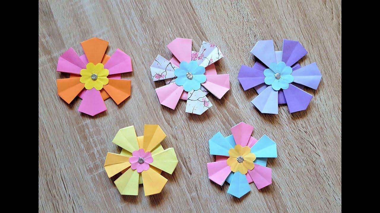 ellies blumen specialorigami blumediy origami flower