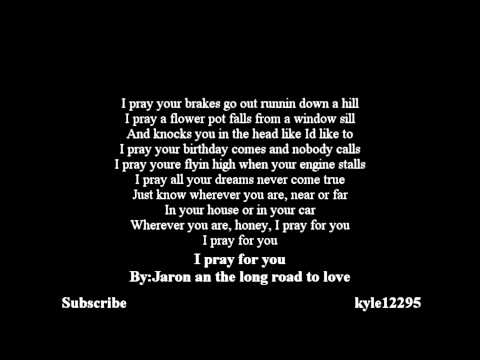 Jaron And The Long Road To Love - I Pray For You [lyrics] [HD]