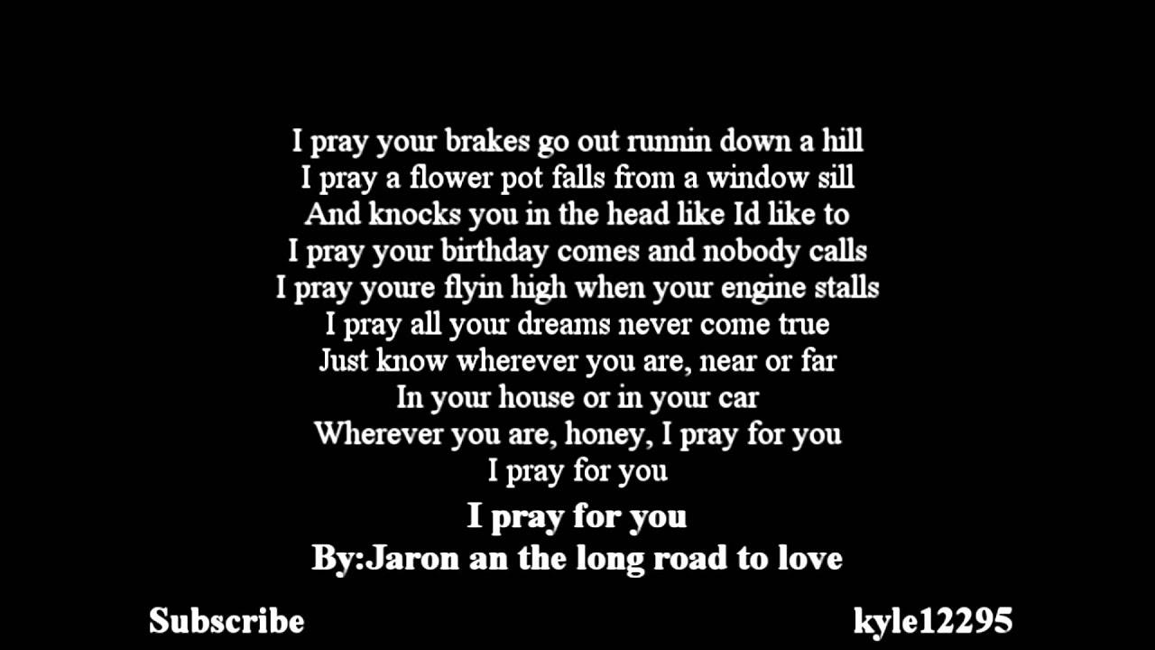 Yg Who Do You Love Lyrics Jaron And The Long Roa...