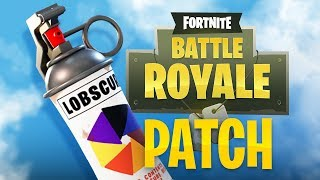 SMOKE GRENADE ARRIVED-Patch v. 1.9.1-Fortnite Battle Royale