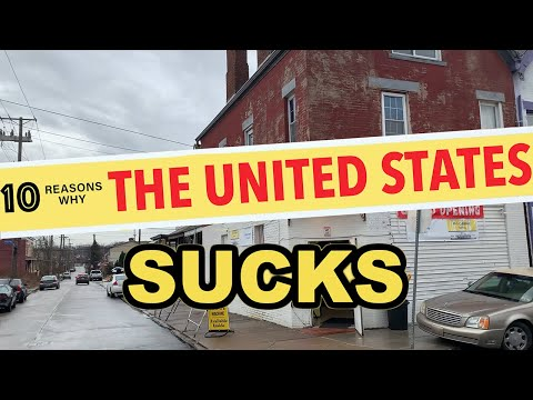 10 Reasons Why You Should NEVER Move to the United States