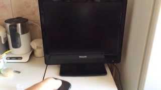 телевизор PHILIPS 20FPL3403/60 - работает после ремонта :)