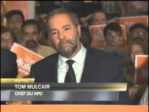 "Tom Mulcair Touts Membership in ""Socialist International"""