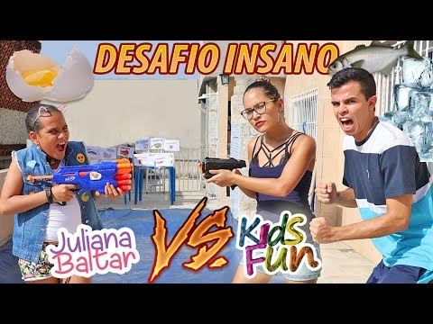 JULIANA BALTAR VS KIDS FUN - DESAFIO INSANO!