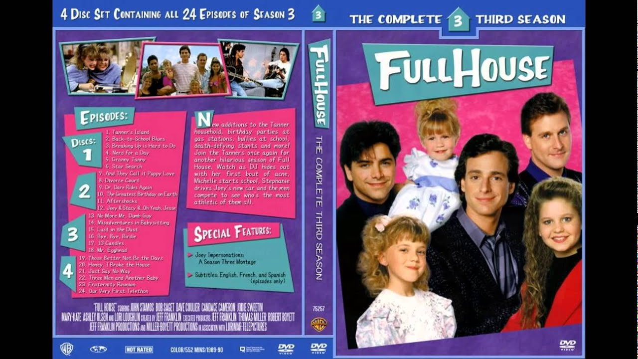 Full House Dvd Collection Youtube