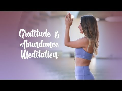 Guided Meditation Practice for Gratitude and Abundance