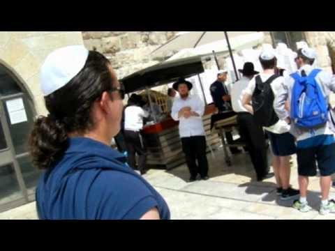 The Western Wall in Jerusalem: Israel