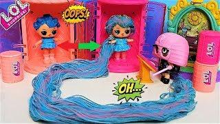 КУКЛЫ ЛОЛ МУЛЬТИКИ! Кукла ЛОЛ поменяла УМ на длинные волосы #lolsurprise #мультики