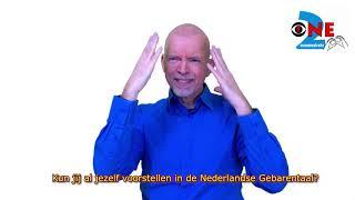 Jezelf voorstellen in Nederlandse Gebarentaal