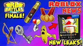 ROBLOX NEWS: Front Page Game Hat Release, New Leaks, RB Battle Event Update & Finale