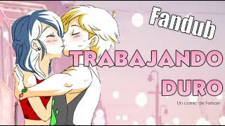 FANDUB EJERCICIO ADRINETTE | Miraculous Ladybug Comic Español