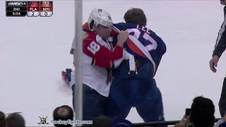 Reilly Smith vs Anders Lee Mar 14, 2016