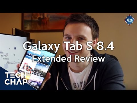 Samsung Galaxy Tab S 8.4 Extended Review