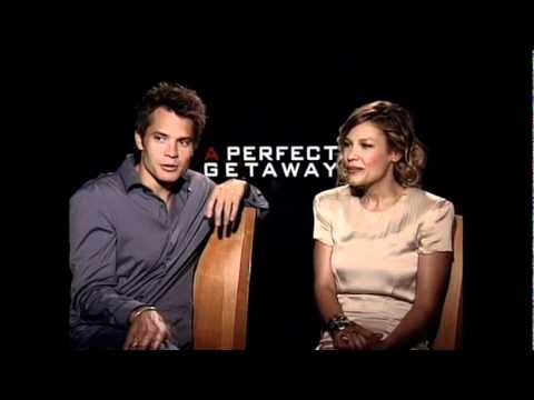 Timothy Olyphant & Kiele Sanchez talk A Perfect Getaway  JoBlo.com