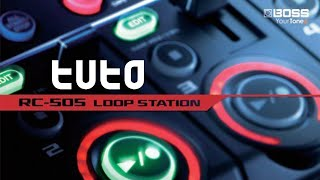 Looper RC 505-BOSS - intro sur les effets
