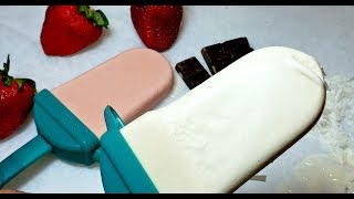 Creamy Popsicles Recipe | Mexican Paletas Recipe | Creamy Coconut Popsicles
