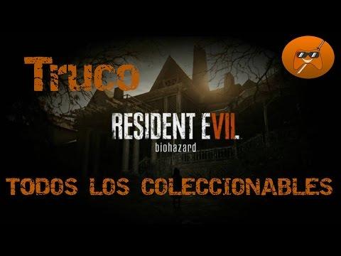 RESIDENT EVIL VII 7 / TRUCO TODOS los coleccionables, objetos, notas (Guía)