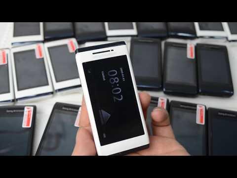 Sony Ericsson Aino U10 Cảm Ứng Nắp Trượt Camera 8.1 dòng điện thoại cao cấp đến từ sony