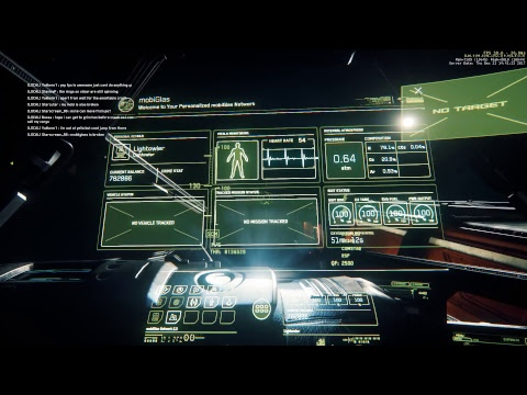 Star Citizen PTU, missions crashes and general testing