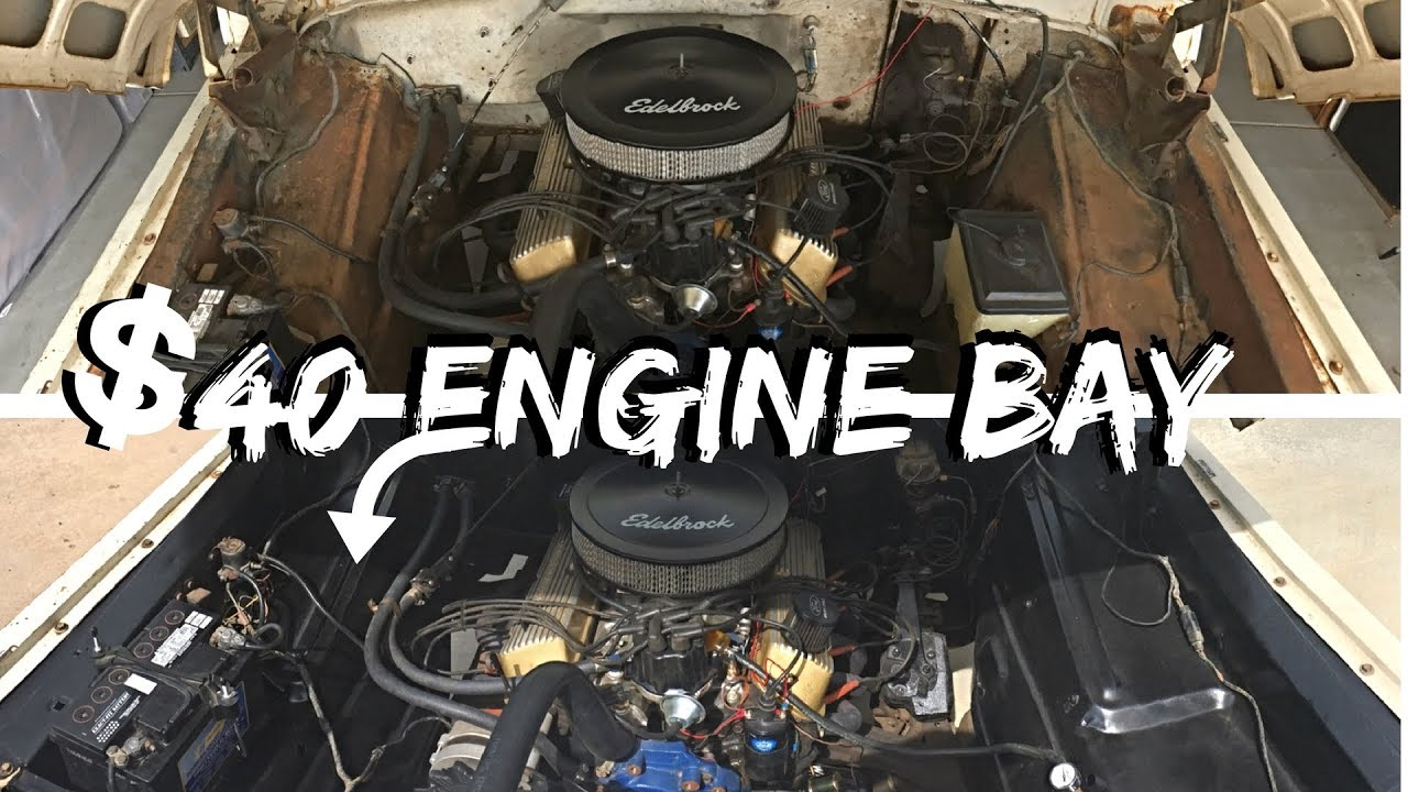 F100 Gets A Fresh Engine Bay Youtube