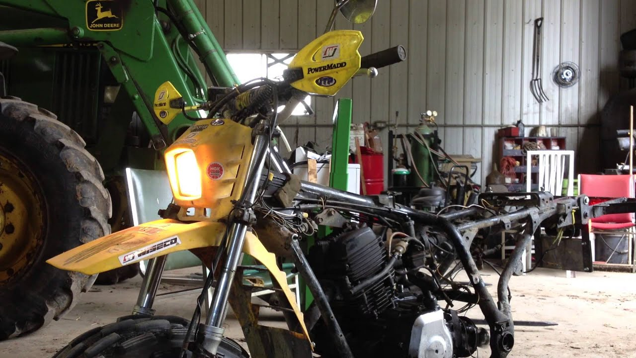 Ytm 225dx Teardown Youtube 1984 Yamaha 225 Wiring