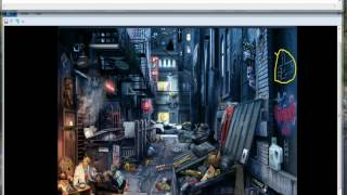 Criminal Case # 10 Back Street (All Items)