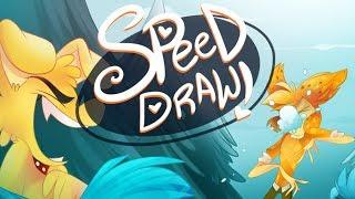 SPEED DRAW- Snowball Fight (Zoophobia)-Vivziepop