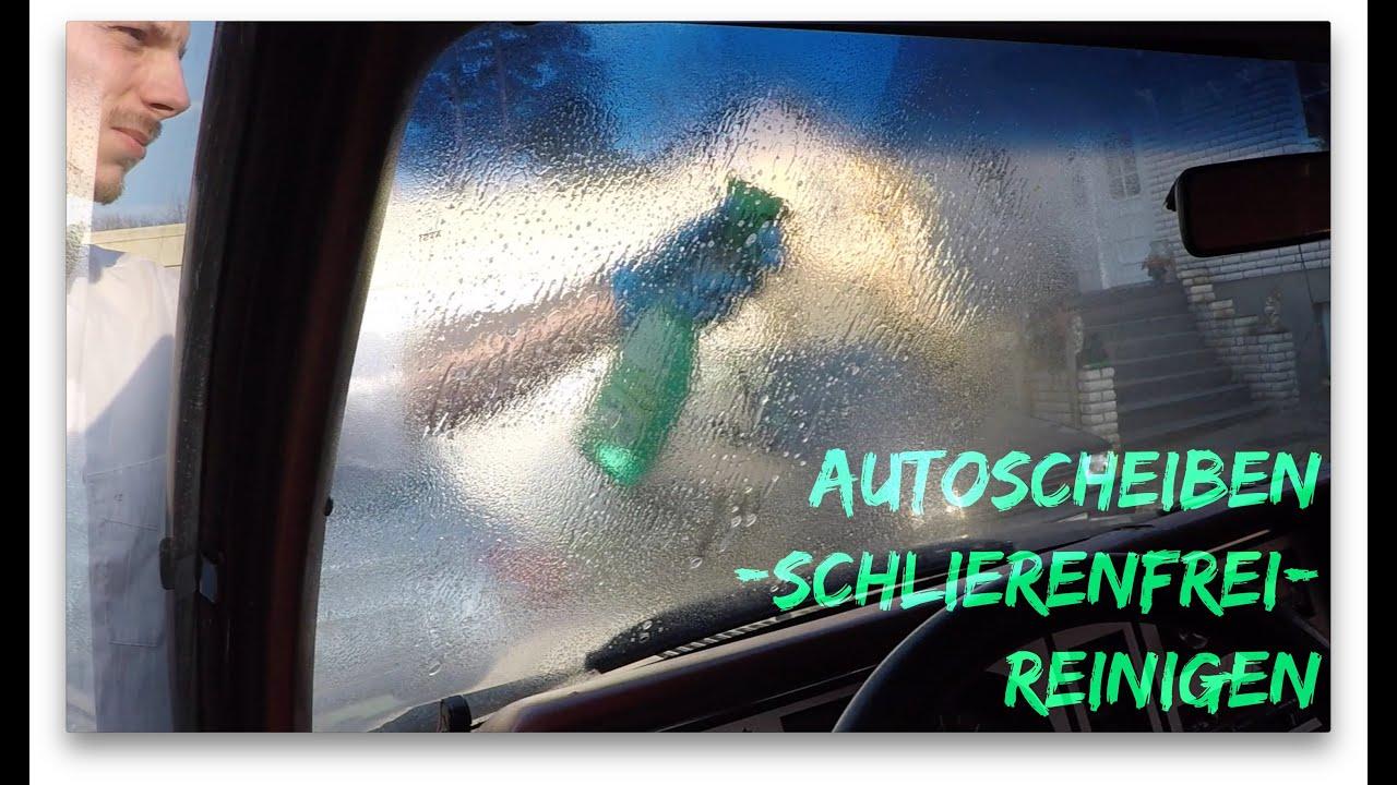Wie Bekomme Ich Meine Fenster Streifenfrei Sauber anleitung autoscheiben reinigen fenster putzen autopflege 18