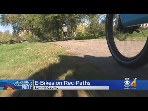 Summit County Trails To See E-Bikes