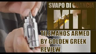 TILEMAHOS ARMED - GOLDEN GREEK - REVIEW