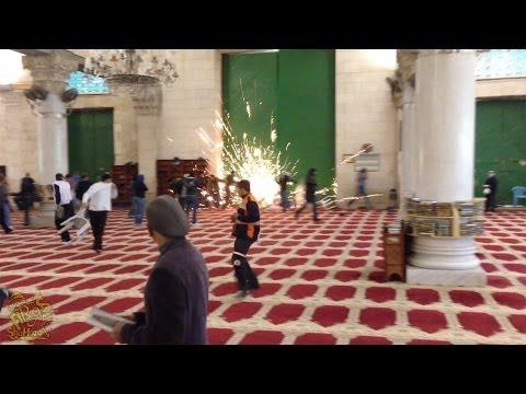 Israel Attacks Al-Aqsa Mosque 2014