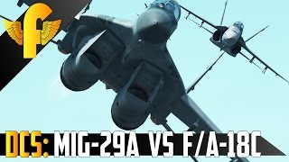 DCS World: MiG29A vs F/A-18C's