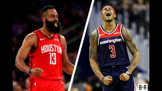 James Harden (59 PTS) vs. Bradley Beal (46 PTS) Battle It Out In Washington