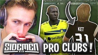 SIDEMEN: PRO CLUBS!