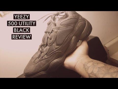 6ac0a193b BEST YEEZY 500 UTILITY BLACK REVIEW!