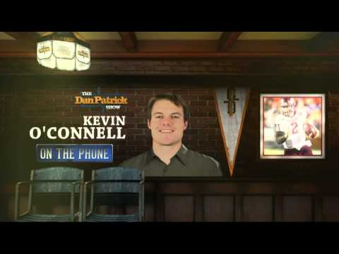 Kevin O'Connell on the Dan Patrick Show (Full Interview) 3/26/14