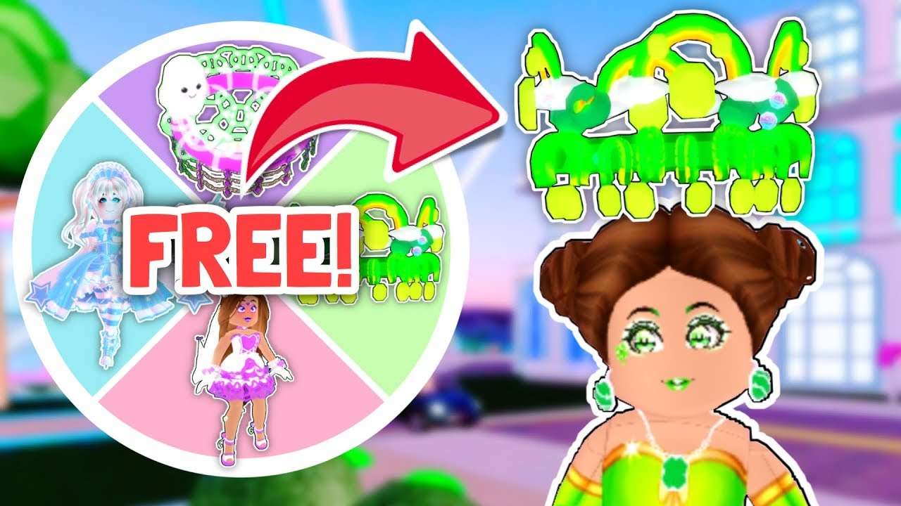Wheel Decide Robux Free Robux Get Points Mystery Wheel Decides What I Trade For Free Royale High Trading Youtube