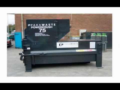 Refurbished Balers Compactors Waste Handling Equipment