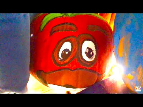 LEARN COLORS ❤️ Tomato ❤️ Family Fun ❤️ Pumpkins 🎃 HAPPY HALLOWEEN 👻 Vlog ❤️ Kinder Playtime