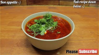 🍅Russian\Ukrainian Borsch| Tasty Borsch Recipe🍅