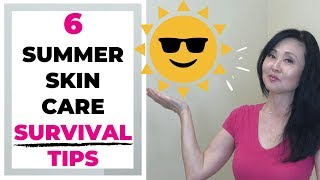 Summer Skin Care Routines- 6 Tips