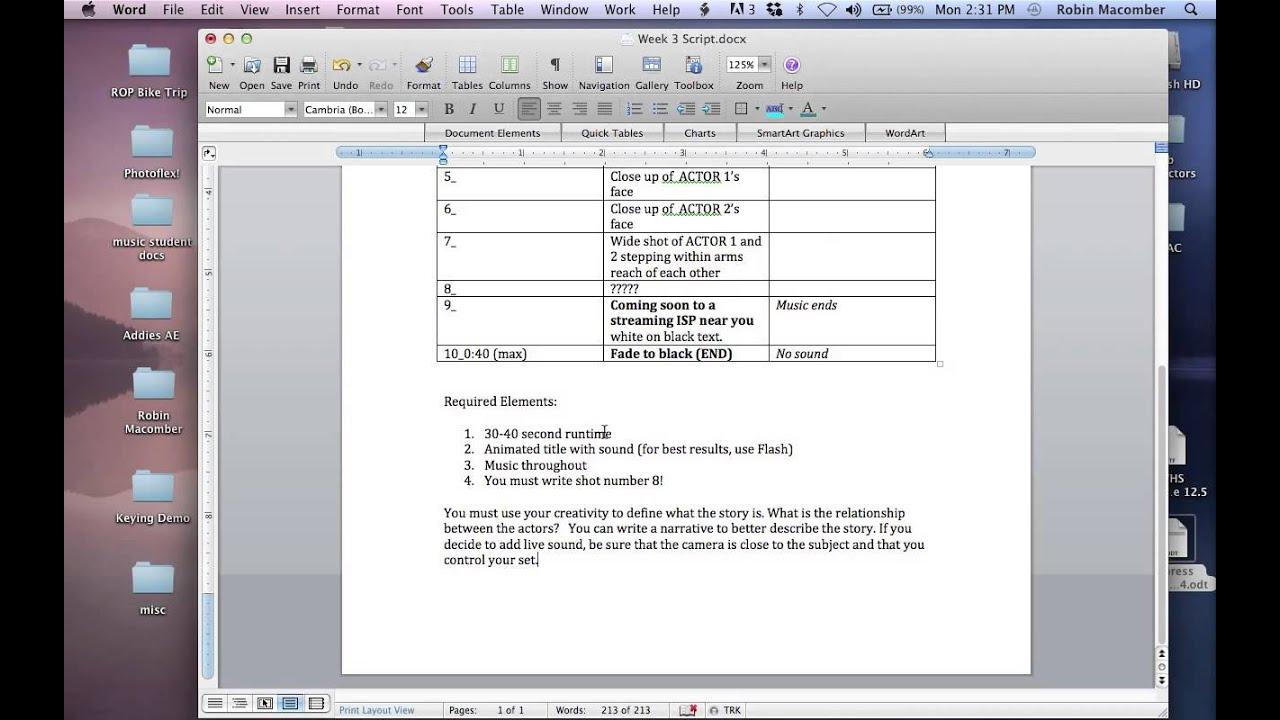 Three Column Script Tutorial