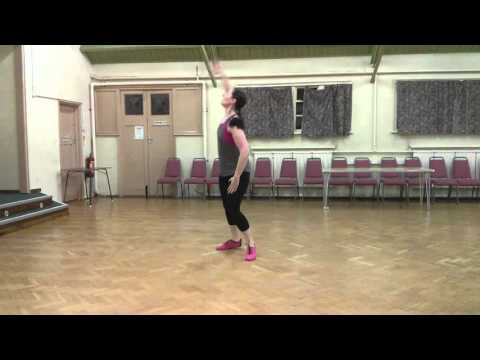 Zumba Gold Cumbia - Mami (Routine demo for students) - Jan 2016
