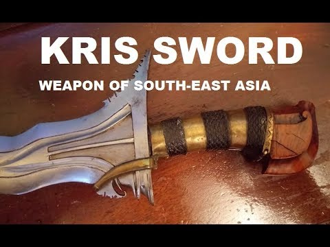 Kris Sword - Weapon of South-East Asia