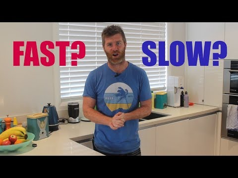 Is slow weight loss better than fast weight loss?